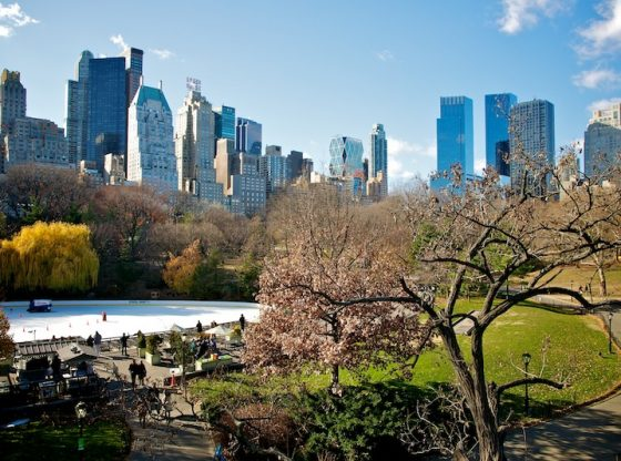 Central Park has the most outdoor activites in Manhattan