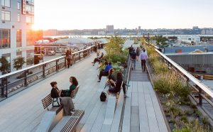 High line - patway to visit in Manhattan
