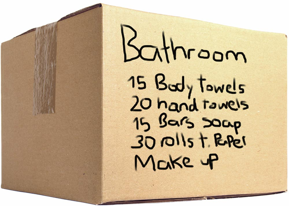 Ideas for packing your items
