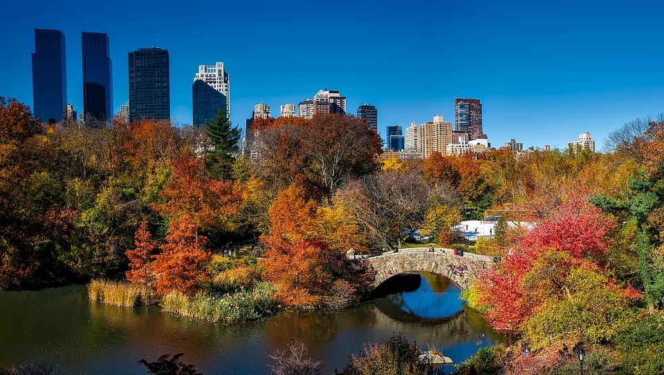 Manhattan vs Brooklyn - Central Park as the deciding factor.