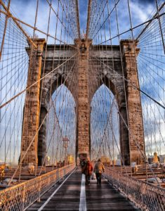 Attractions for children in New York - Brooklyn Bridge