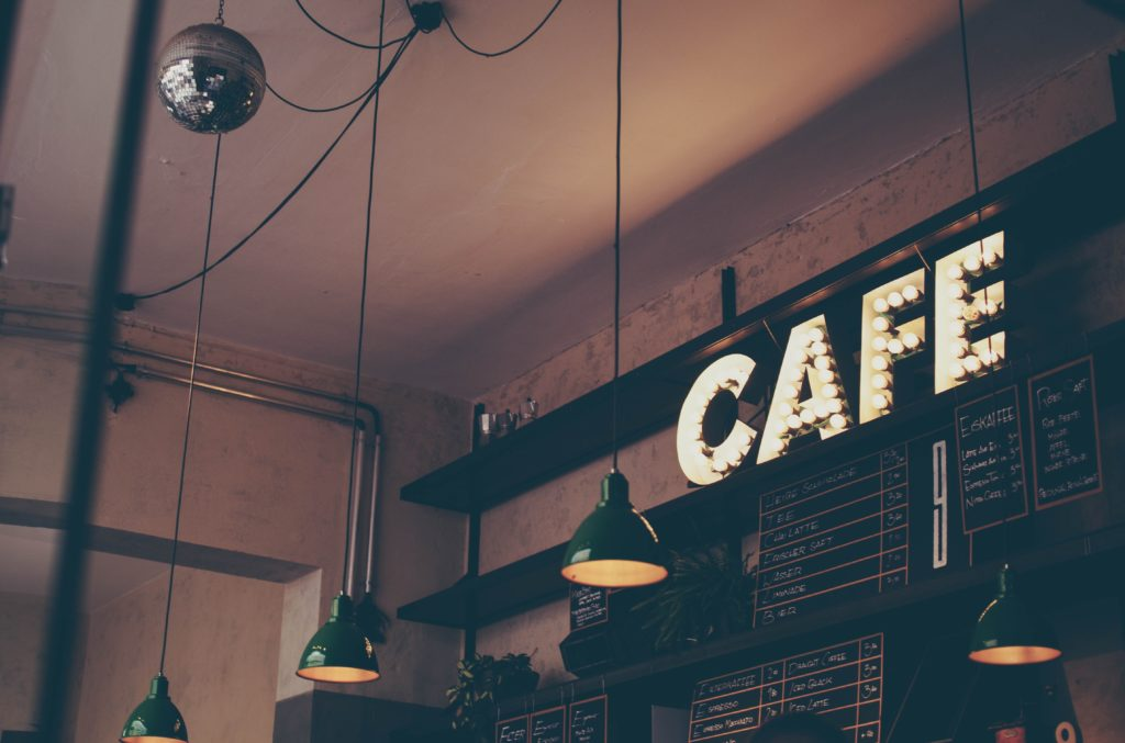 Find one of the best coffee shops in Manhattan