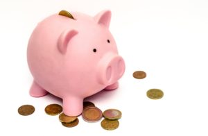 Money box for saving money