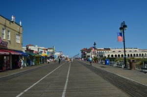 A famous seaside boardwalk is something to look forward to after moving from New York to New Jersey.