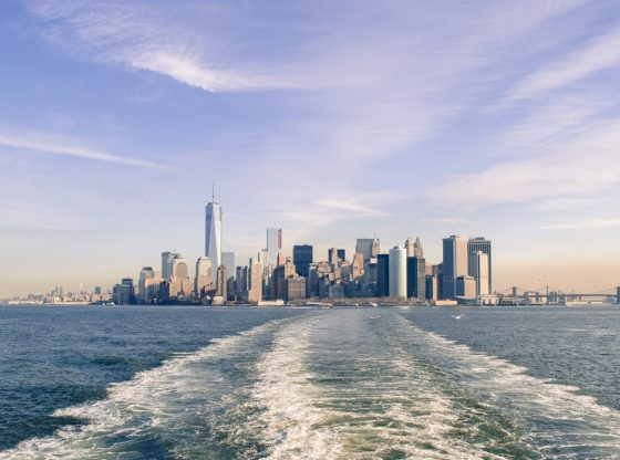 New York view from water
