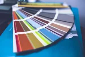 A bunch of different color palettes. Decorate your Manhattan apartment by painting it today!