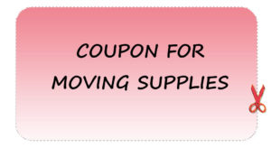 Use the coupons and get discounts on moving services.