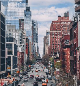 Manhattan dreaming? Pros and cons of NYC buildings, streets, cars and people.