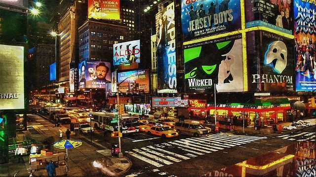 Times Square is a must see when exploring NYC after moving.