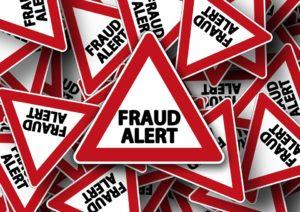 Fraud warning signs.
