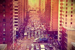 NYC rush hour