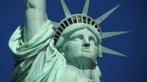 The Statue of Liberty - a symbol of new york