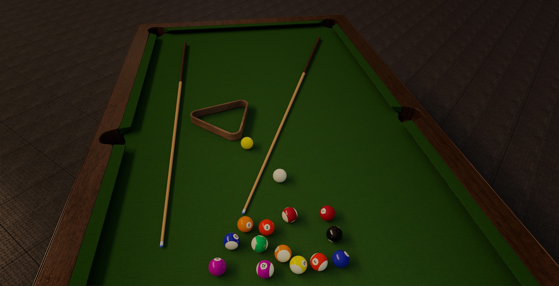Pool table moving tips