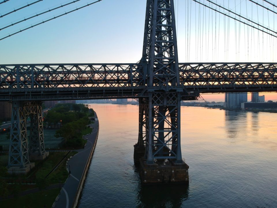 Things to do in East Village includes visiting the bridge during the sunset