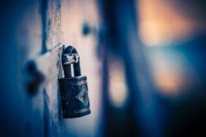 locked lock