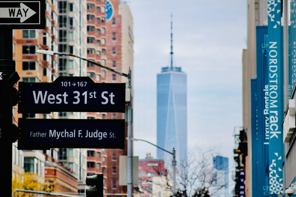 the street in New York