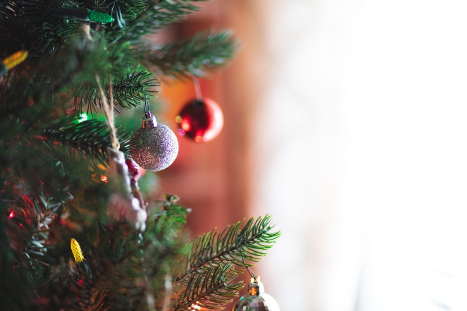 store your Christmas decorations that are hanging on the tree