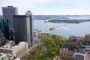 Battery Park City lanscape