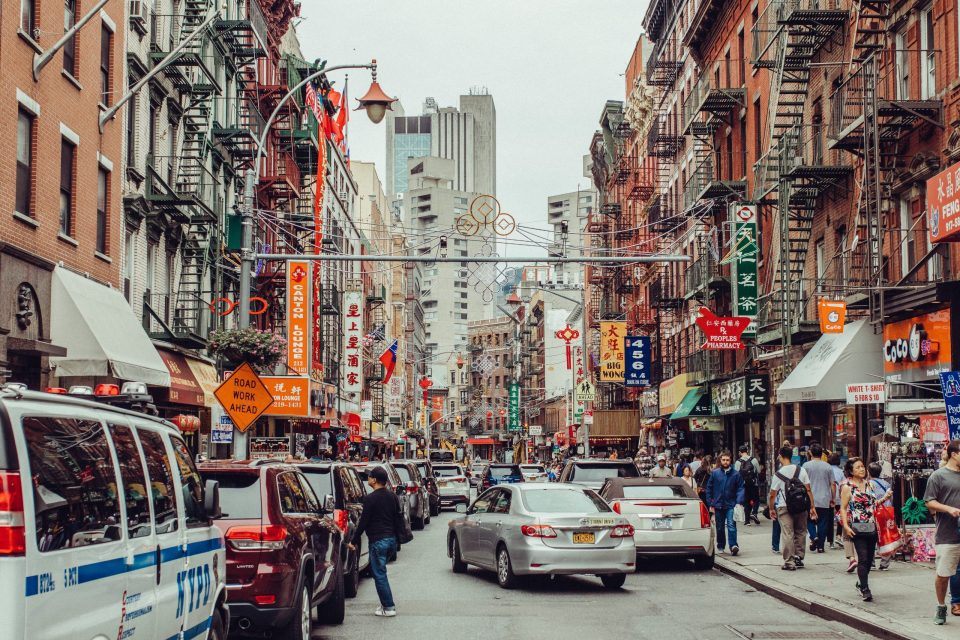 Chinatown during the day