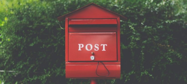 A post box - The 5 Most Forgotten Moving-Related Tasks